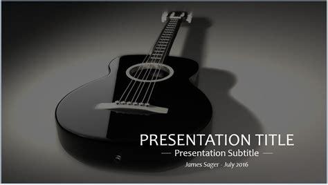 Guitar Powerpoint Template Guitar Powerpoint Template Free Guitar Powerpoint Template By Sagefox