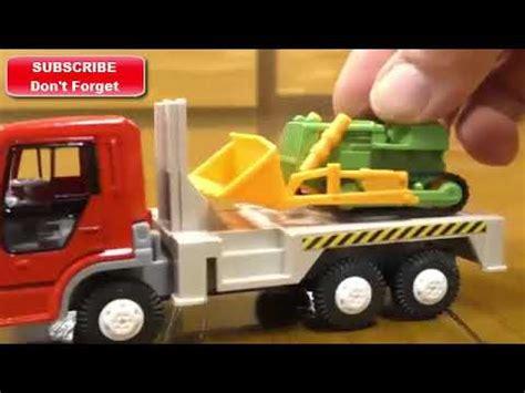 Mainan Anak Truk Keruk Oct6107 excavator beko mainan terbaru lagi keruk