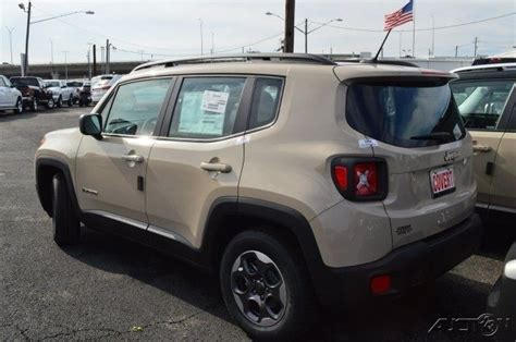 tan jeep renegade j05916 new jeep sport tan suv premium 2 4l i4 16v
