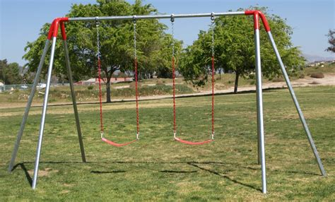 2 swing swing set heavy duty commercial metal swing sets free shipping
