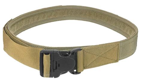 Most Comfortable Duty Belt by Pantac Duty Belt With Security Buckle Khaki Large