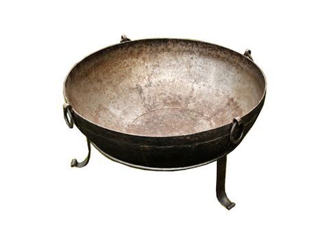 Large Firepit Large Firepits Iron Kadai Pit Bowl Up To 35kg Pits Wood Burners Patio Heaters Garden Wood