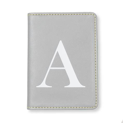Card Holder Alfabeth Diskon mint alphabet travel card holder a gifts oliver bonas