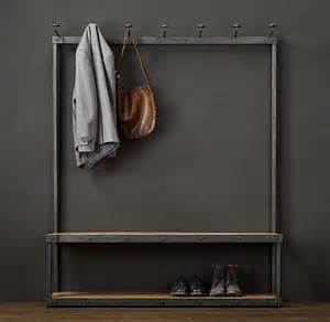 Coat And Shoe Rack With Bench by Restoration Hardware Right Gillian Gillies S