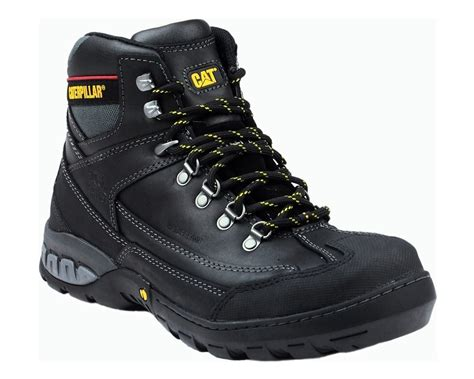 Caterpillar S7 Safety Boot cat waterproof dynamite safety boots dynamite brown mammothworkwear