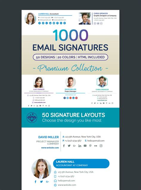Email Signature Design Templates Images Professional Report Template Word Email Signature Illustrator Template