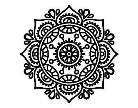 mandala tattoo coloring pages mandala para relajarse colorear coloring pages