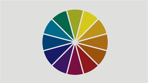 color wheel for decorating home design