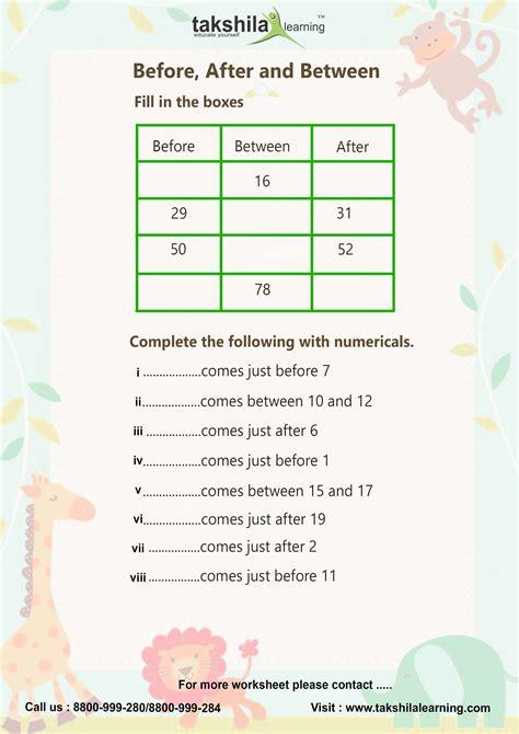 Class Worksheet by Worksheet For Class 1 Maths Cbse Class 1 Maths