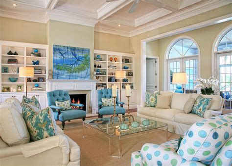 nautical themed living room modern house coastal living room design ideas with fireplace stylish