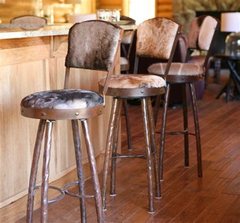 mexican bar stools leather rustic genuine leather bar stools with backs on wood