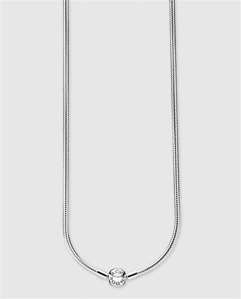 cadena plata hombre el corte ingles cadena en plata pandora 183 pandora 183 moda 183 el corte ingl 233 s