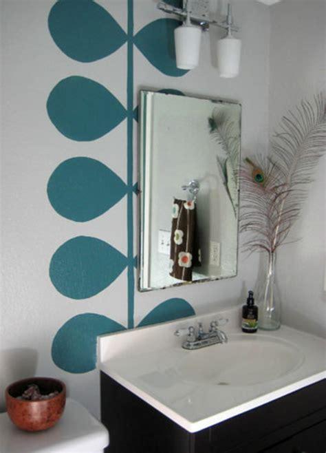 badezimmerideen malen 62 kreative w 228 nde streichen ideen interessante techniken