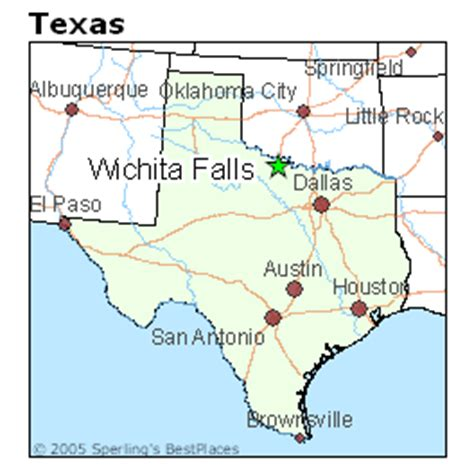 wichita texas map best places to live in wichita falls texas