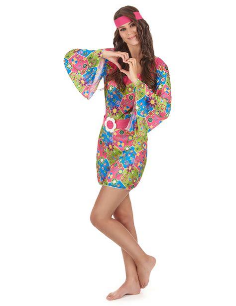 hippie bloemen mooi hippie verkleedpak voor dames