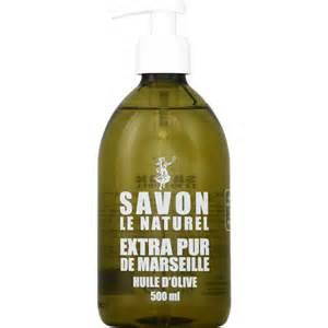 le naturel savon liquide pur de marseille 224 l huile