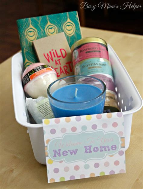 new home gifts new home gift basket with free printable tags busy moms
