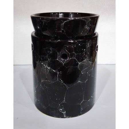 decorative electric candles set black marble decorative ceramic tart warmer set of dish