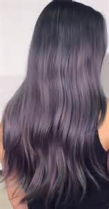 purple gray hair color silver gray hair styles hairstylegalleries