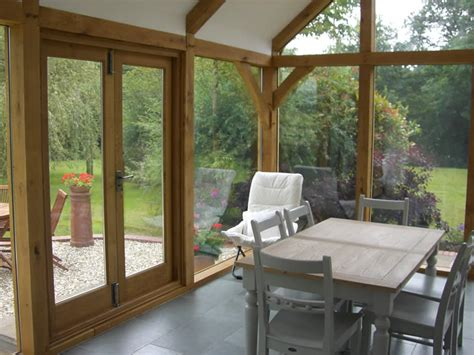 Small Kitchen Extensions Ideas Cottage Oak Oak Framed Structures Garages Extensions
