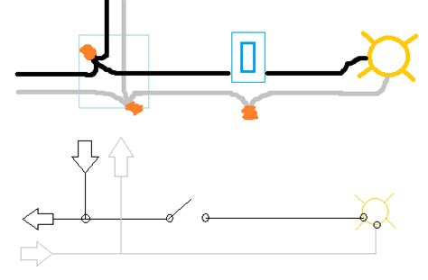 lighting junction box wiring diagram image collections