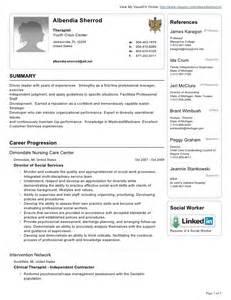 albendia sherrod visual cv resume 1