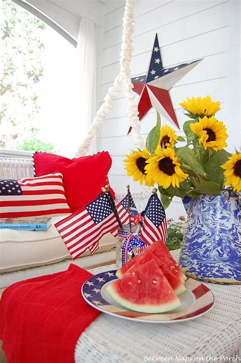 5 Great 4th Of July Ideas by Front Porch Outdoor 4th Of July Decorating Ideas The