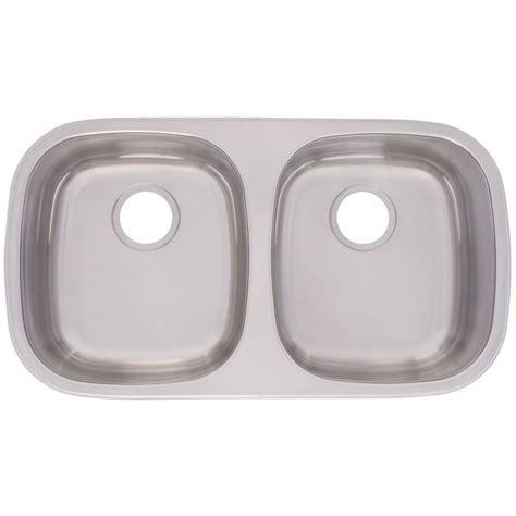 Knop Panci Stainless Mt 31 franke undermount stainless steel 31 3 8 in 0 basin kitchen sink fudg800 18bx the