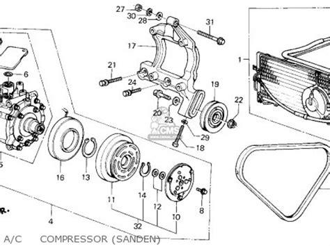 sanden compressor wiring diagram matsushita compressor