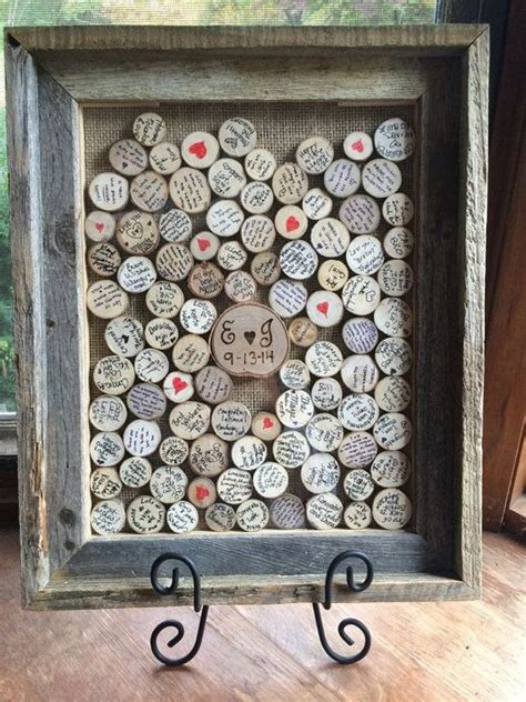 picture frame alternatives personalized framed guest book rustic wedding guestbook
