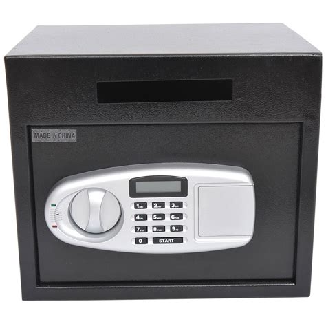 homcom electronic digital safe box keypad lock security