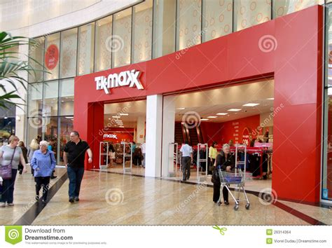 Maxx Shop by Tk Maxx Shop In A Mall Editorial Stock Image Image Of