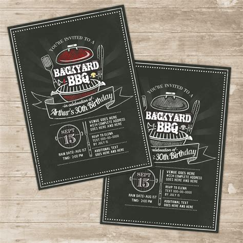 backyard bbq invitations backyard bbq invitation grill cookout invite family picnic