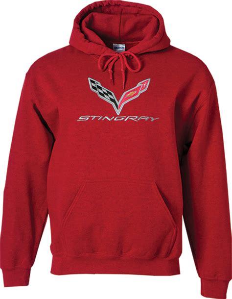 corvette sweatshirt c7 corvette hooded sweatshirt chevymall