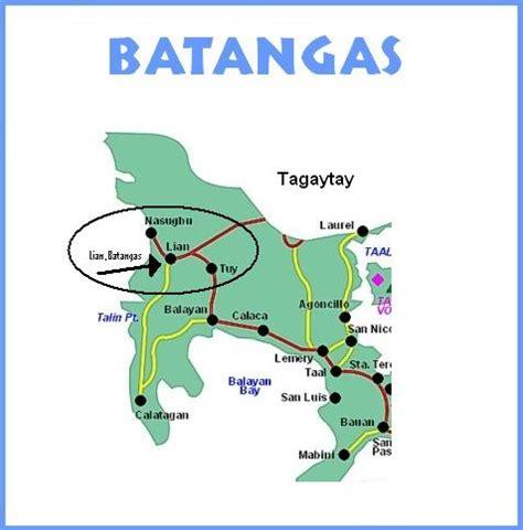 palm resort map batangas tabzresort