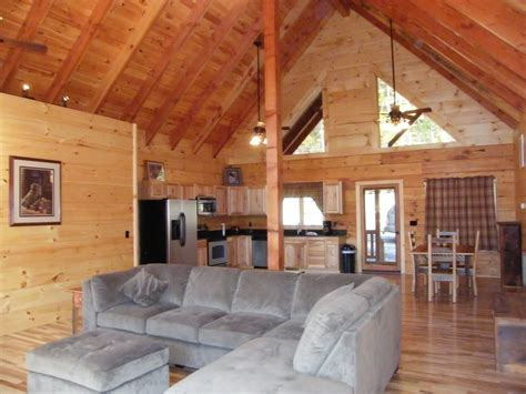 Log Cabin Beams by Mountain Log Cabin A New Luxury Homeaway Luray