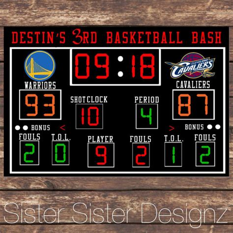 basketball scoreboard coloring pages printable basketball scoreboard