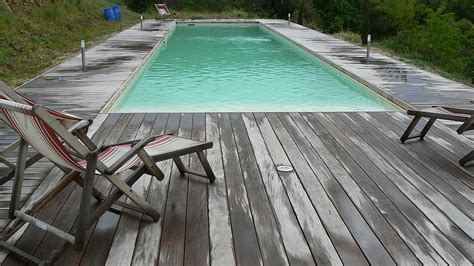 Contour De Piscine En Bois contour de piscine en bois menuiserie confort