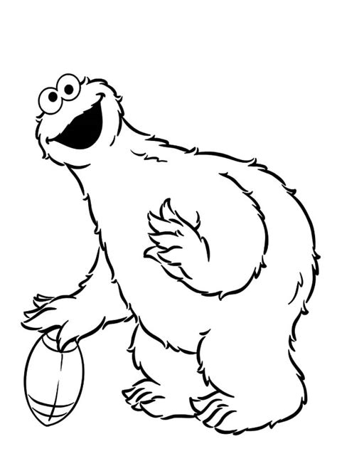 coloring pages of baby cookie monster baby cookie monster coloring pages