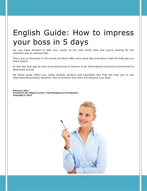 7 Ways To Impress Your In by How To Impress Your In 5 Days