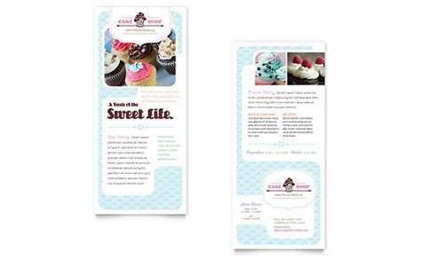 rack card template for word free rack card template microsoft word publisher