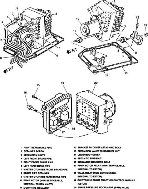 repair guides anti lock brake system modulator valve autozone com repair guides anti lock brake system modulator valve autozone com