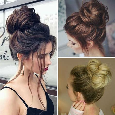 Simple Bun Hairstyles by 25 Best Ideas About Bun Updo On