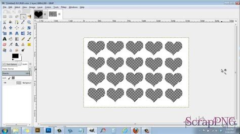 gimp templates cards how to create a 4x6 template a gimp tutorial