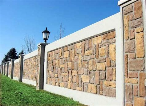 outside brick wall designs boundary wall design for home google search ideas for