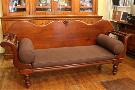 miners couch 19th century australian cedar miners couch the merchant