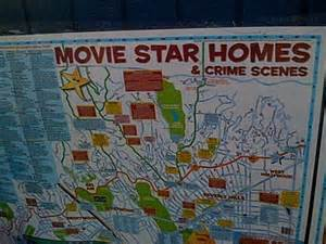 Star Map Los Angeles by Star Map Hollywood