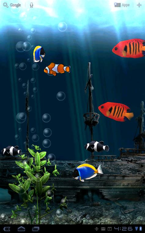live wallpaper android bagus aquarium free live wallpaper android apps on google play