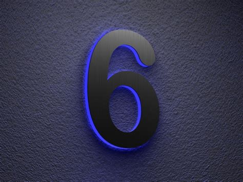 Illuminated House Number Illuminated House Numbers To Coloring Your House ? Home Constructions