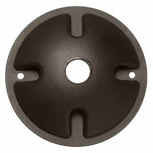 Landscape Junction Box Cover By Hinkley Lighting 0022bz Landscape Lighting Junction Box